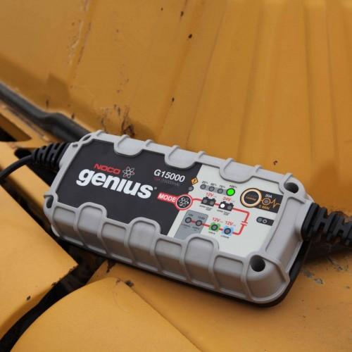 Φορτιστής και συσκευή συντήρησης συσσωρευτών NOCO G15000 UltraSafe 12V & 24V 15A