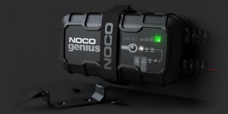 Φορτιστής και συσκευή συντήρησης συσσωρευτών NOCO GENIUS10 6V & 12V 10A