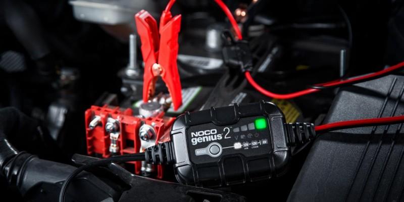 Φορτιστής και συσκευή συντήρησης συσσωρευτών NOCO GENIUS2 6V & 12V 2A