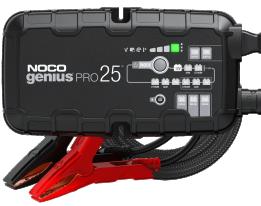 Φορτιστής και συσκευή συντήρησης συσσωρευτών NOCO GENIUSPRO25 6V, 12V & 24V 25A